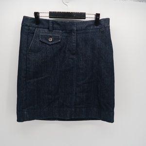 Ann Taylor Women's Denim Jean Pencil Skirt Size 10